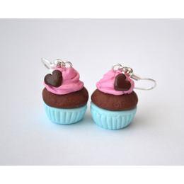 Fincsi Lógós Fülbevaló - Szíves Habos Muffin