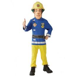 Fireman Sam - Sam, a Tűzoltó Jelmez