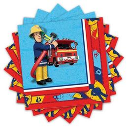 Tűzoltó Parti Szalvéta - 33cm x 33 cm, 20 db-os