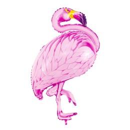 Flamingó Mintás Fólia Lufi