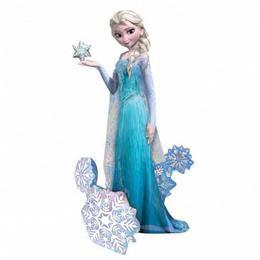 Elsa The Snow Queen - Frozen Sétáló Fólia Lufi
