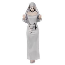 Gótikus Apáca Jelmez Halloween-re