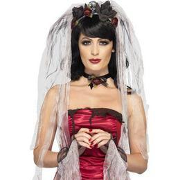 Gótikus Menyasszony Szett Halloweenre