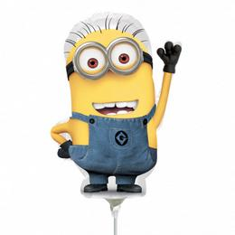 Minion - Despicable Me Mini Shape Fólia Lufi Pálcán