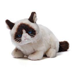 Grumpy Cat Fekvő Cica Plüss