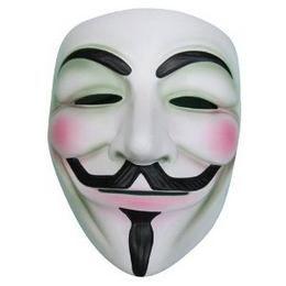 Guy Fawkes Maszk - Fehér