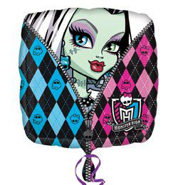 18 inch-es Monster High Héliumos Fólia Lufi