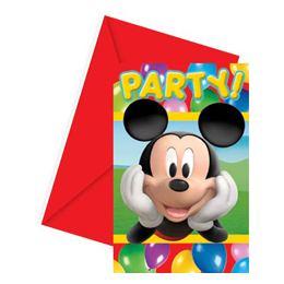 Lufis Mickey Egér Parti Meghívó