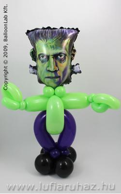 Frankenstein Lufi Ajándék és Dekoráció Halloweenre