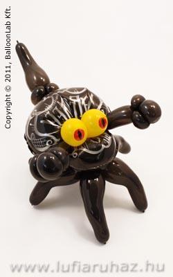 Spider Monster - Pókos Lufi Dekoráció Halloweenre