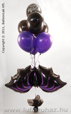 Bat Bouquet -Denevéres Lufi Dekoráció Halloweenre