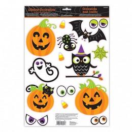 Halloween Family Ablakdekoráció