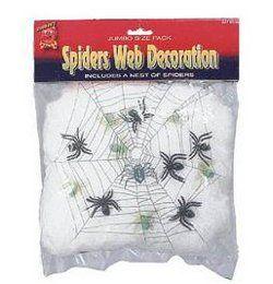Világító Pókháló Pókokkal