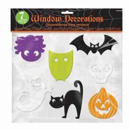 Vidám Ablakdekoráció Halloweenre