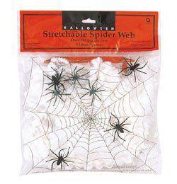 Pókháló 4 db Pókkal - 40 gramm