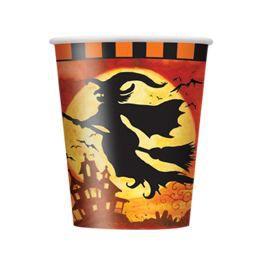 Spooky Hollow Halloween Parti Pohár - 270 ml, 8 db-os