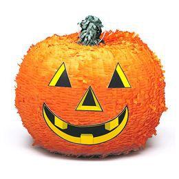 Tök Alakú Pinata Játék Halloweenre