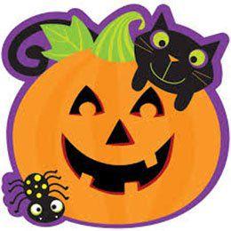 Halloween Tökfej Dekorációs Karton - 31 cm