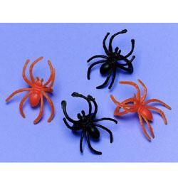 Narancssárga és Fekete Pókos Gyűrű Halloweenre