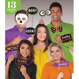 Halloween-re Kiegészítő Szett Fotózáshoz - 13 db-os