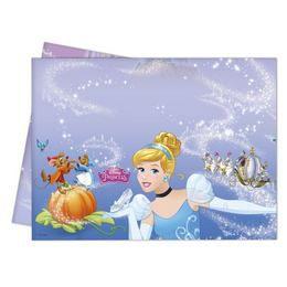 Hamupipőke Világa (Cinderella) Parti Asztalterítő - 180 cm x 120 cm