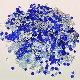 Happy Birthday Boys Blue Parti Konfetti - 15 gramm