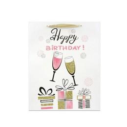 Happy Birthday Feliratú Szülinapi Ajándéktasak