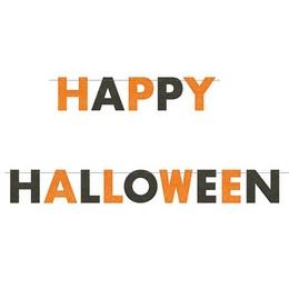 Happy Halloween Glitteres Parti Betűfüzér