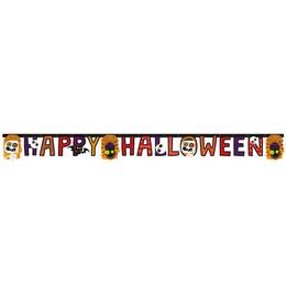 Happy Halloween Kids Parti Betűfüzér