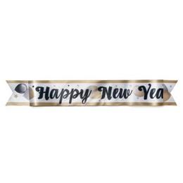 Happy New Year Feliratú Elegáns Vállszalag