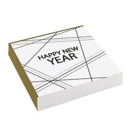 Happy New Year Feliratú Parti Szalvéta