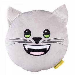 Emoji Párna Cica, 30 cm