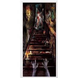 Elvarázsolt Véres Kísértetház Ajtódekoráció, 165 cm x 85 cm
