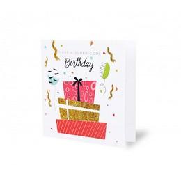 Have a Super Cool Birthday Feliratú Szülinapi Képeslap