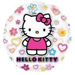 26 inch-es Hello Kitty Átlátszó Héliumos Fólia Lufi