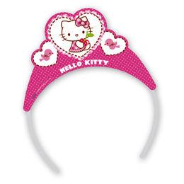 Hello Kitty Hearts - Szíves Parti Tiara - 6 db-os