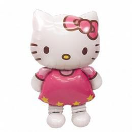 Hello Kitty Óriás Sétáló Fólia Lufi