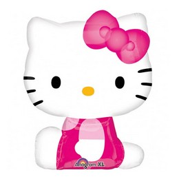 Hello Kitty Pose Super Shape Léggömb