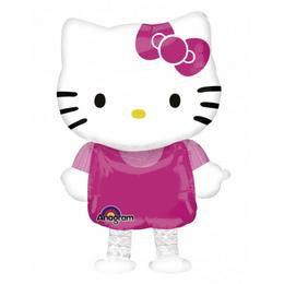 Hello Kitty Sétáló Héliumos Fólia Lufi