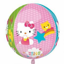 Hello Kitty Ultra Shape Orbz Héliumos Fólia Lufi