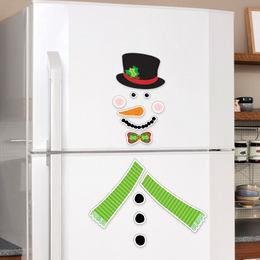 Hóemberes Hűtő Dekoráció