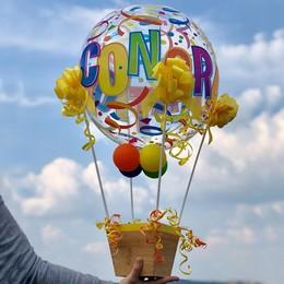 Ballagási Léggömb Dekoráció Hőlégballon