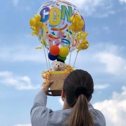 Ballagási Léggömb Dekoráció Plüss Macival Hőlégballon