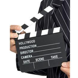 Hollywood Fekete-Fehér Filmes Csapó Tábla