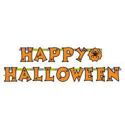 Happy Halloween Feliratos Pókos Füzér