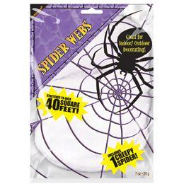 Fehér Pókháló 1 db Pókkal
