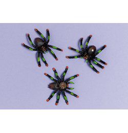 Dekorációs Pókok - 8 db