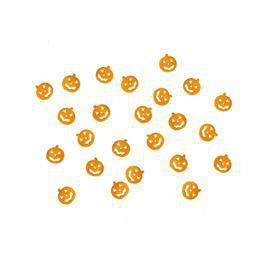 Narancssárga Tökfejek Konfetti Halloweenre - 15 g