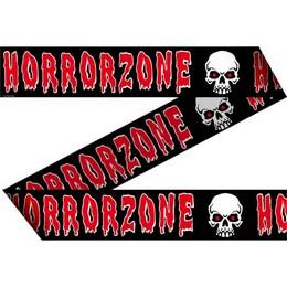 Horror Zone Feliratú Koponya Mintás Kordonszalag Halloween-re