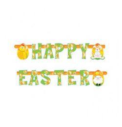 Happy Easter Feliratú Húsvéti Betűfüzér - 2 m